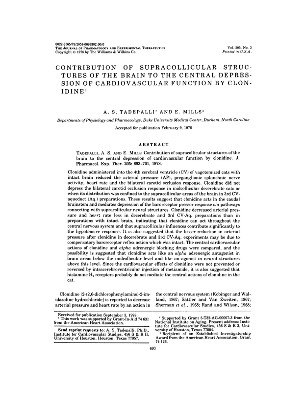 Contribution of supracollicular structures of the brain to
