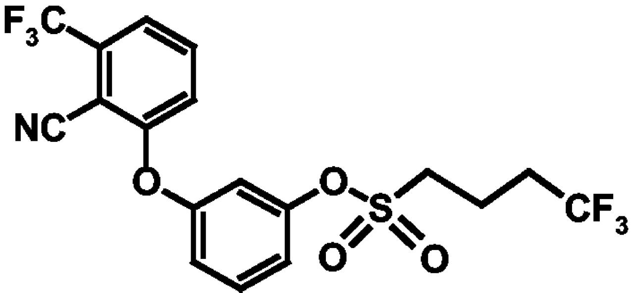 3 2 Cyano 3 Trifluoromethylphenoxyphenyl 444 Trifluoro 1