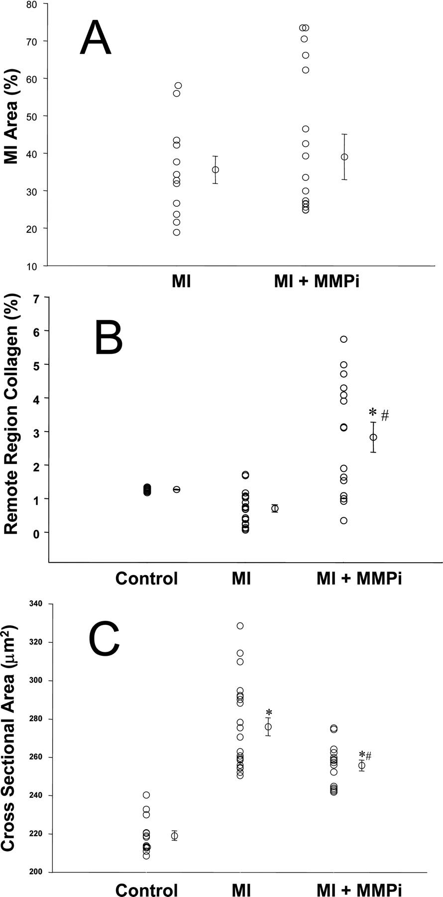 Chronic Matrix Metalloproteinase Inhibition Following