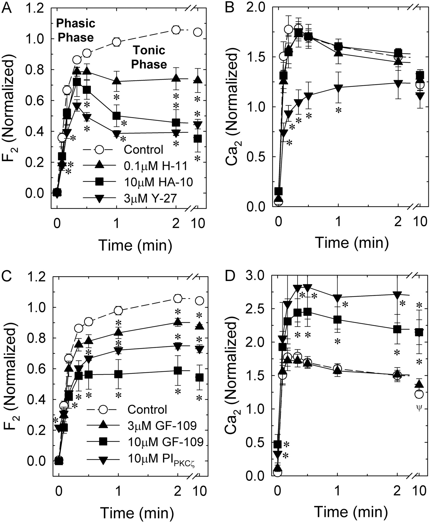 Role of Protein Kinase Cζ and Calcium Entry in KCl-Induced