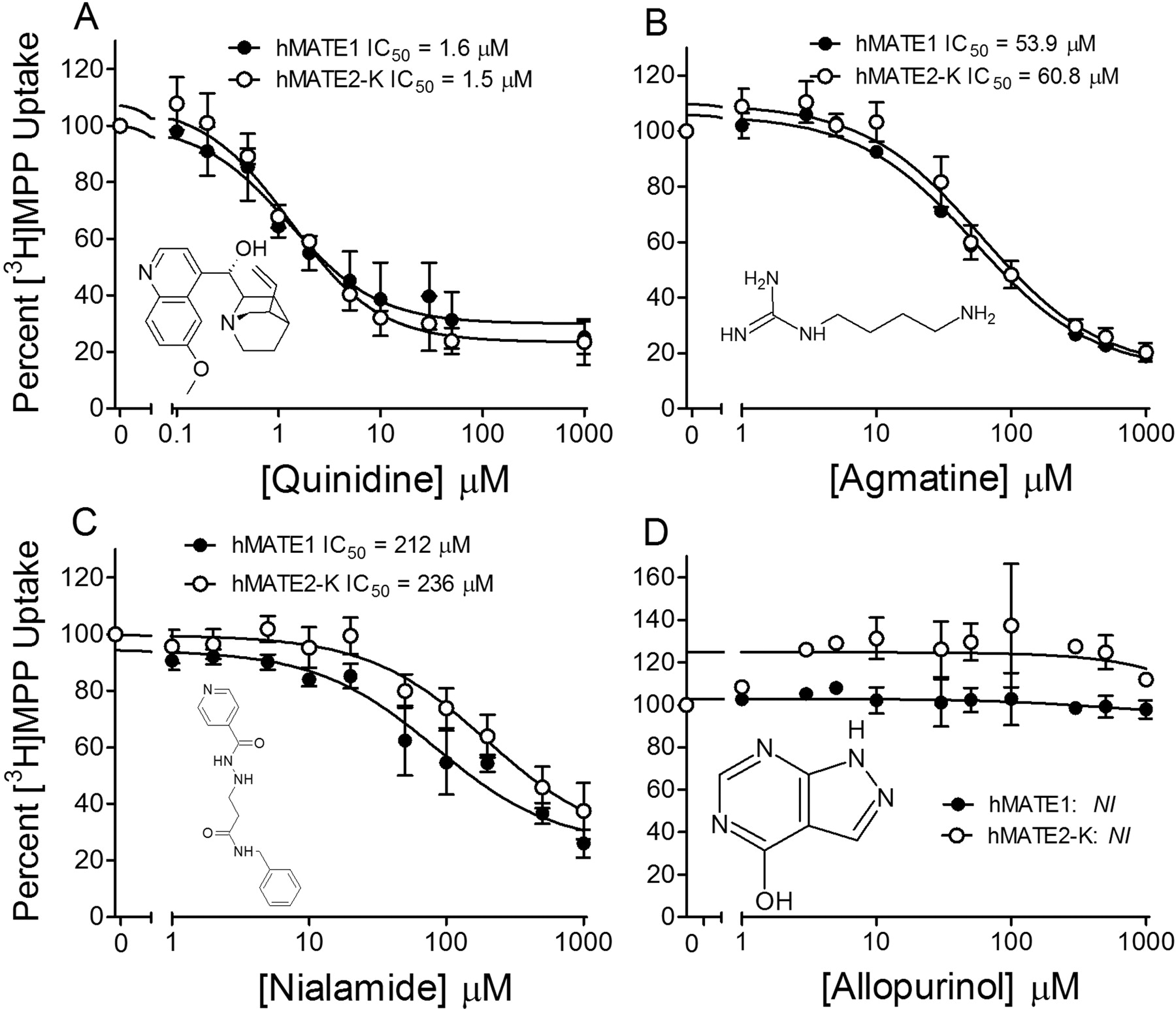 Molecular Determinants of Ligand Selectivity for the Human