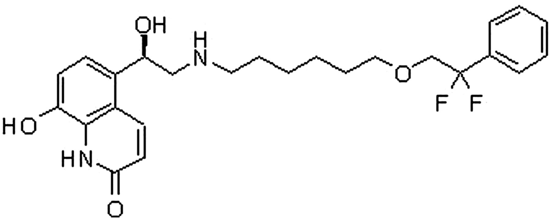 Salmeterol Structure
