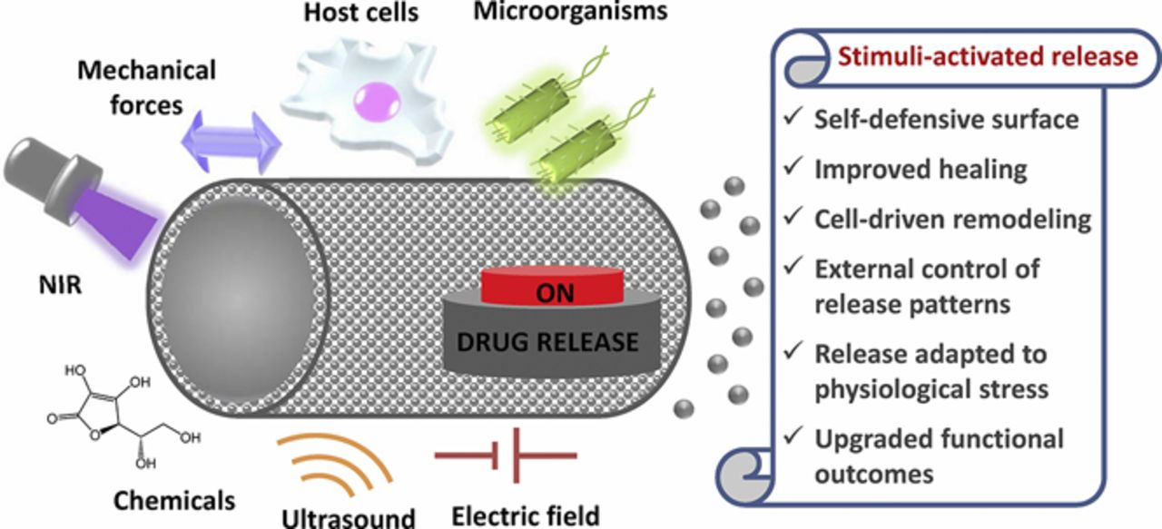 Smart Drug Release from Medical Devices | Journal of
