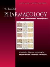 Journal of Pharmacology and Experimental Therapeutics: 339 (1)