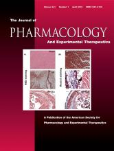 Journal of Pharmacology and Experimental Therapeutics: 341 (1)