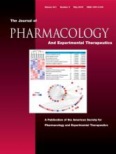 Journal of Pharmacology and Experimental Therapeutics: 341 (2)