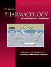 Journal of Pharmacology and Experimental Therapeutics: 341 (3)