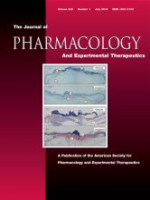 Journal of Pharmacology and Experimental Therapeutics: 342 (1)