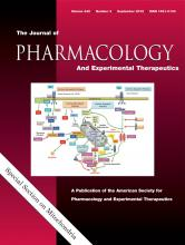 Journal of Pharmacology and Experimental Therapeutics: 342 (3)