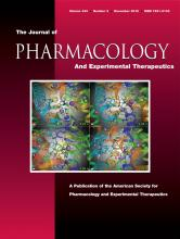 Journal of Pharmacology and Experimental Therapeutics: 343 (2)