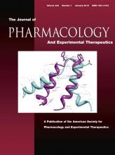 Journal of Pharmacology and Experimental Therapeutics: 344 (1)