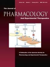 Journal of Pharmacology and Experimental Therapeutics: 344 (2)