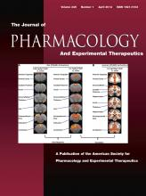 Journal of Pharmacology and Experimental Therapeutics: 345 (1)