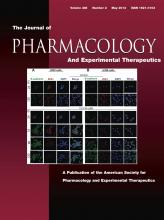 Journal of Pharmacology and Experimental Therapeutics: 345 (2)