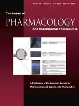 Journal of Pharmacology and Experimental Therapeutics: 345 (3)