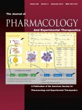 Journal of Pharmacology and Experimental Therapeutics: 346 (3)