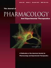 Journal of Pharmacology and Experimental Therapeutics: 347 (3)