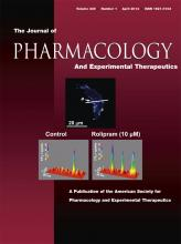 Journal of Pharmacology and Experimental Therapeutics: 349 (1)