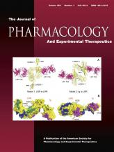 Journal of Pharmacology and Experimental Therapeutics: 350 (1)