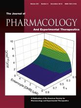 Journal of Pharmacology and Experimental Therapeutics: 351 (3)