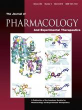 Journal of Pharmacology and Experimental Therapeutics: 352 (3)