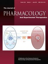 Journal of Pharmacology and Experimental Therapeutics: 354 (1)