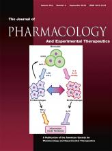 Journal of Pharmacology and Experimental Therapeutics: 354 (3)