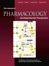 Journal of Pharmacology and Experimental Therapeutics: 362 (3)