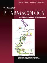 Journal of Pharmacology and Experimental Therapeutics: 364 (1)