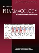 Journal of Pharmacology and Experimental Therapeutics: 370 (2)