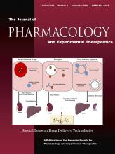 Journal of Pharmacology and Experimental Therapeutics: 370 (3)