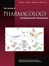 Journal of Pharmacology and Experimental Therapeutics: 372 (1)