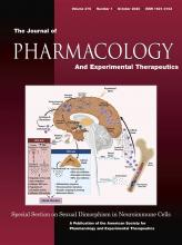 Journal of Pharmacology and Experimental Therapeutics: 375 (1)
