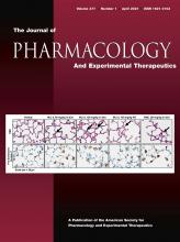 Journal of Pharmacology and Experimental Therapeutics: 377 (1)